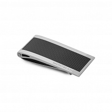 00104731 MONEYCLIP STEEL WITH CARBON INLAY MONTBLANC