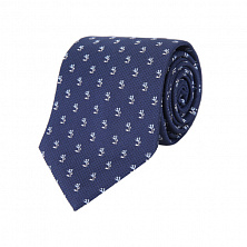 50429808 Галстук Tie 7.5 cm traveller, ONESI, Dark Blue