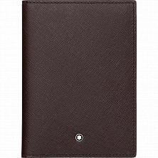 00113233 MB SARTORIAL PASSPORT HOLDER TOBACCO MONTBLANC