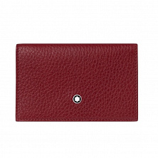 00116974 MST SOFT GRAIN BCH DOUBLE ENVELOPE RED MONTBLANC