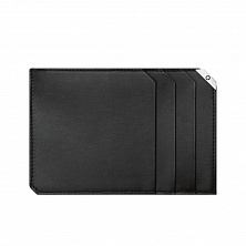 00114676 MB URBAN SPIRIT COIN CASE WITH ZIP BLACK MONTBLANC